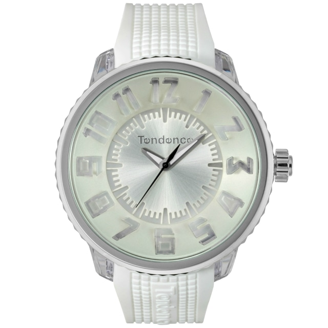 【Tendence テンデンス】TY532003 FLASHフラッシュ(ホワイト)/国内正規品 腕時計