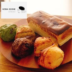 コバスコンの絶品スコーン5個セット&北海道贅沢チーズケーキ1本★KOBA.SCONE × ConnectShop