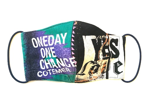 【COTEMER マスク 日本製】 ONE DAY ONE CHANCE MASK M0427021