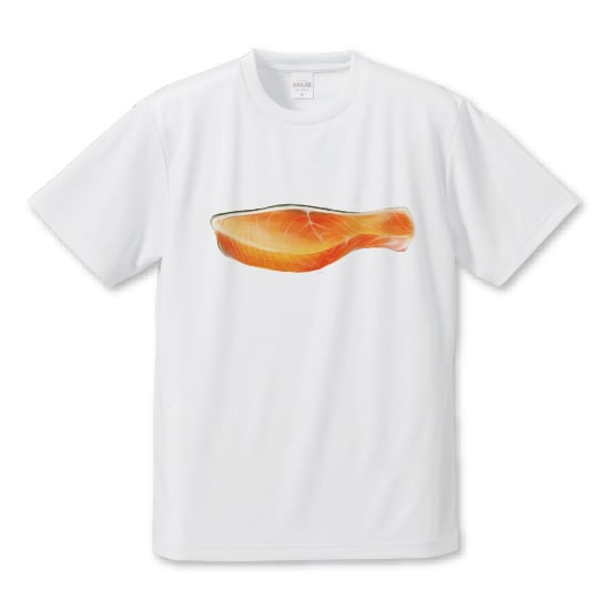 「さけの切り身」Tシャツ