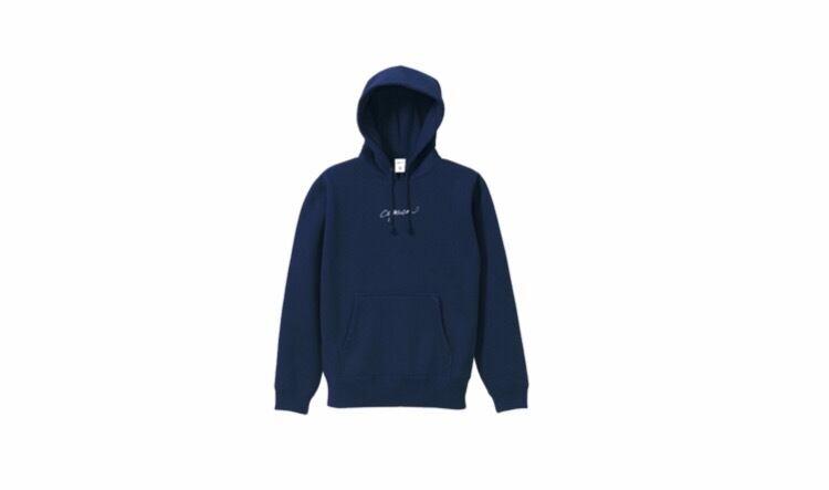 coguchi logo hoodie (nvy/wh)