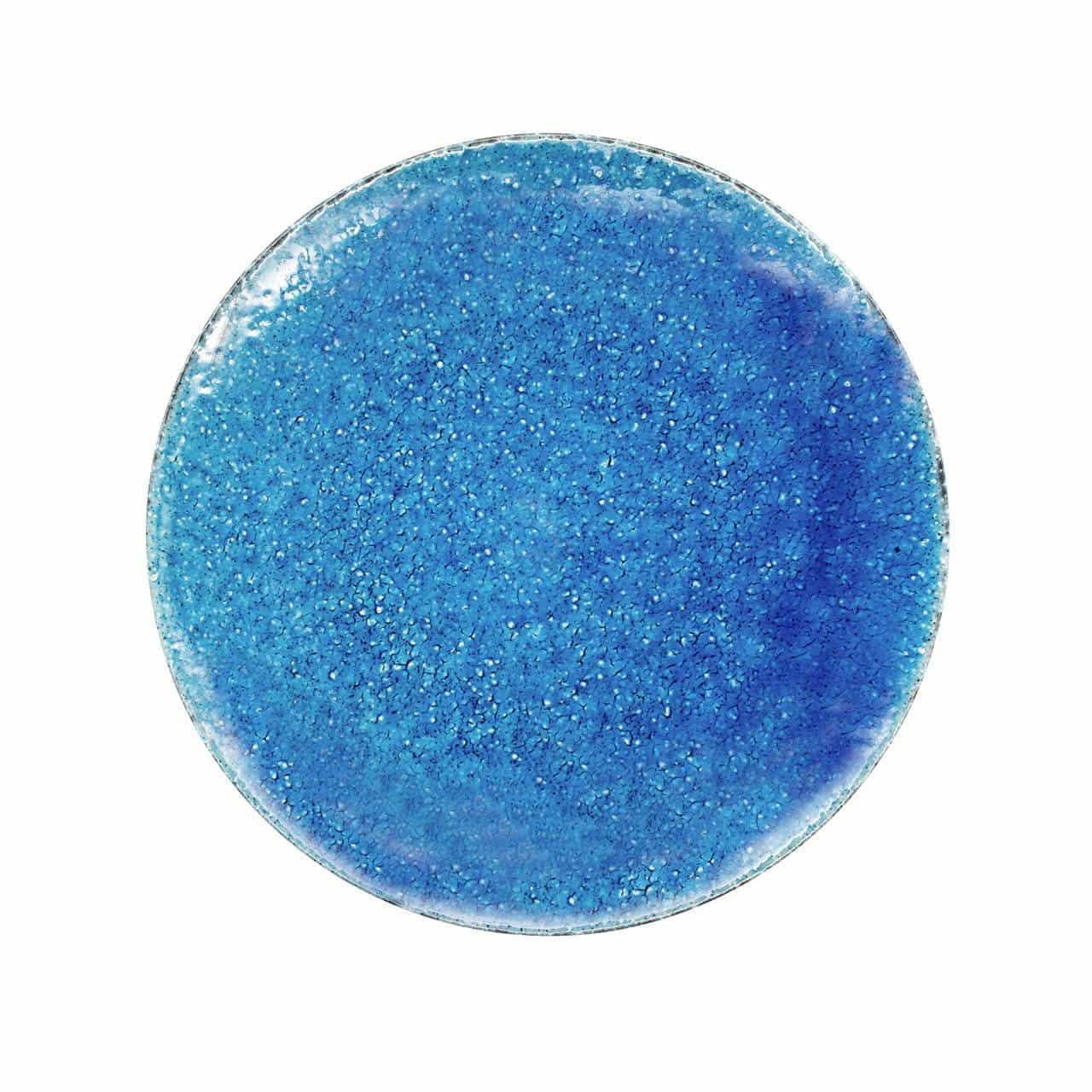 aito製作所 「トルコ釉」プレート 大皿 約20cm ブルー 美濃焼 564104