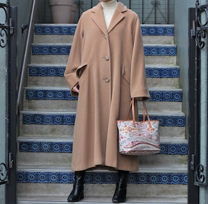 .MAX MARA CASHMERE BREND WOOL OVER COAT MADE IN ITALY/マックスマーラカシミヤ混ウールオーバーコート2000000055992