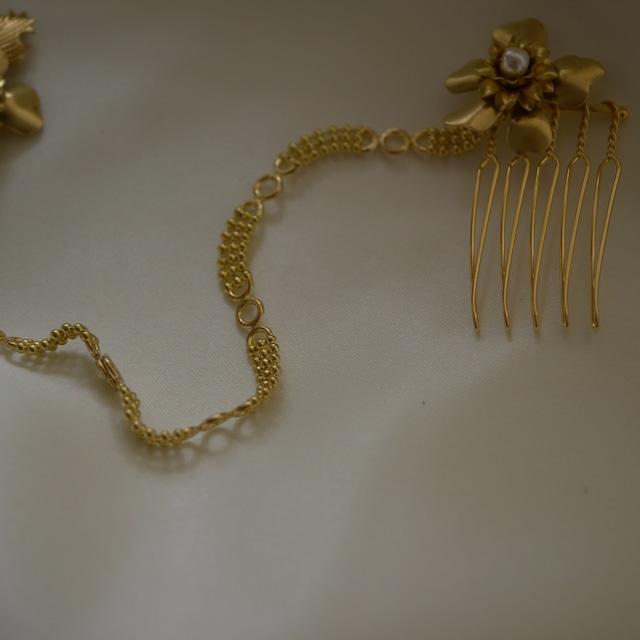 【展示】【headdress】little flower chain
