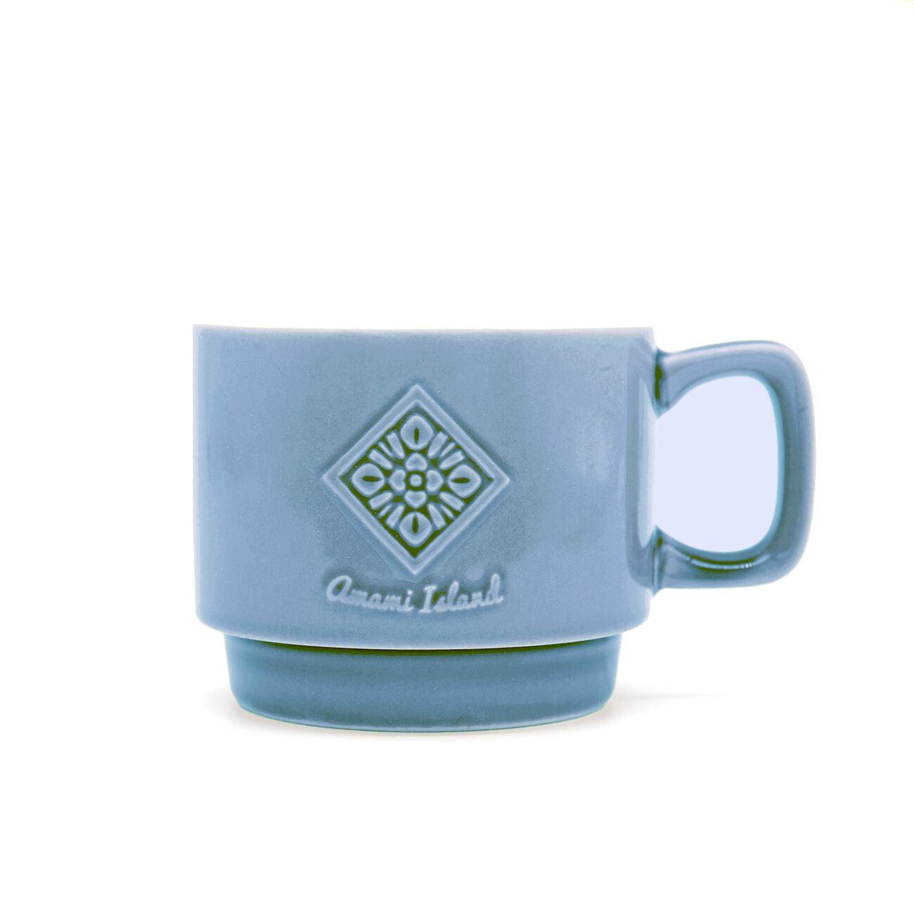 オリジナルマグカップ | インディゴ | 紬柄
