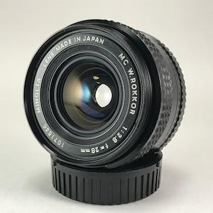 MINOLTA MC W.ROKKOR 28mm F2.8