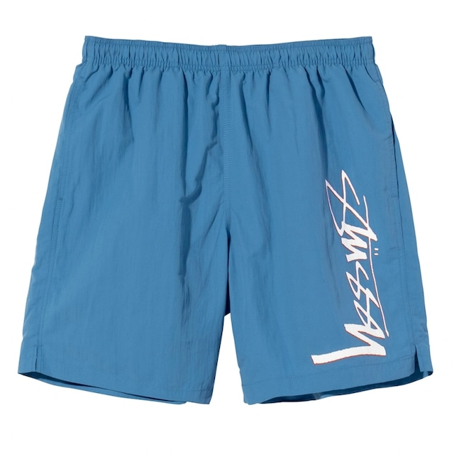 STUSSY SMOOTH STOCK WATER SHORT BLUE
