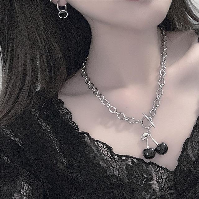 【小物】超人気ファッション個性派ストリート系シンプルチタン鋼ネックレス42896371