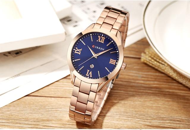 CURREN LT-C9007(rose-blue) レディース腕時計