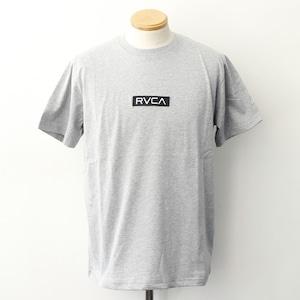 【RVCA】 STANDARD BOX RVCA SS (GREY)