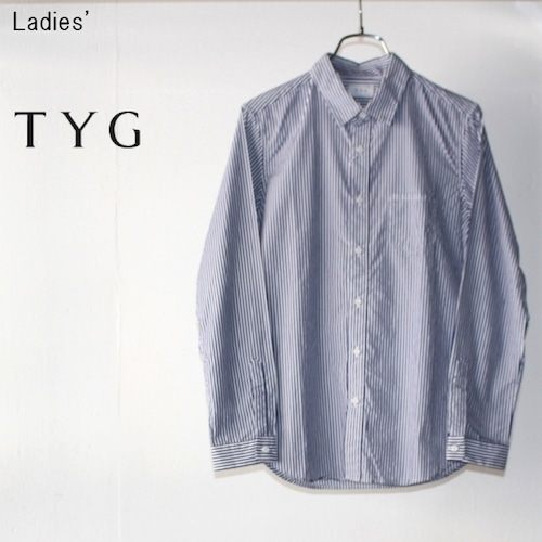 TYG ストライプシャツ L15-001 (BLUE×WHITE)