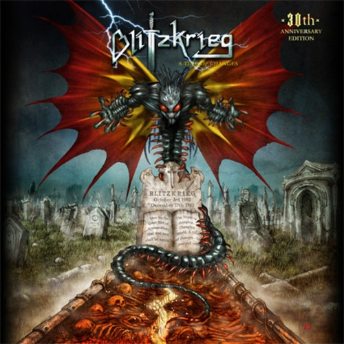 """BLITZKRIEG """"A Time Of Changes: 30th Anniversary Edition"""" (輸入盤)"""