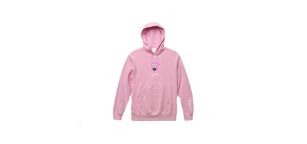 coguchi flower hoodie (PNK)