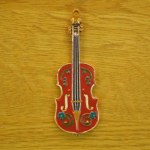 錫の飾り ヴァイオリン