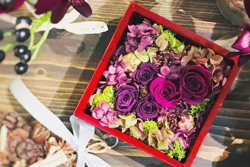 <要予約>【FEEL J Style オリジナル】Urushi Flower Box