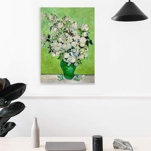 素敵なアートパネル A 2サイズ 花瓶のバラ フィンセント・ファン・ゴッホ