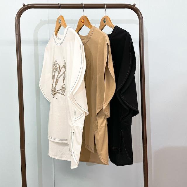フロント刺しゅうtシャツ〈CA1419〉
