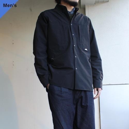 Mountain Smith リサイクルSTナイロンBDシャツジャケット ブラック