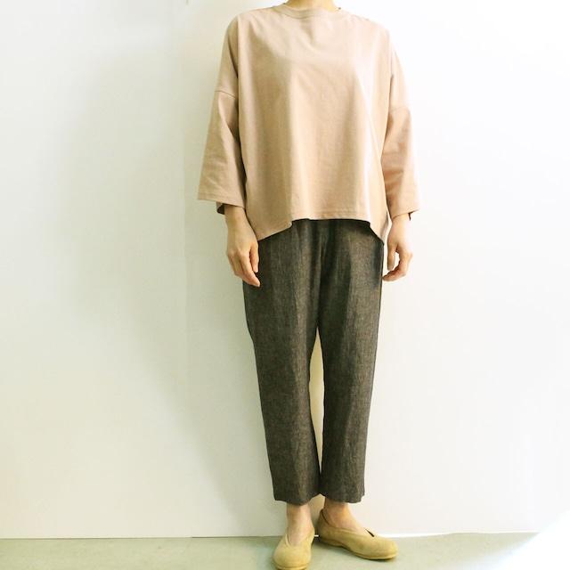 BROCANTE ブロカント ココン ロンTシャツ 39-158N コクーンシルエット長袖Tシャツ