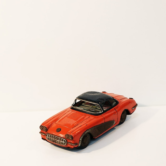 【R-50】赤 ヴィンテージフリクションカー