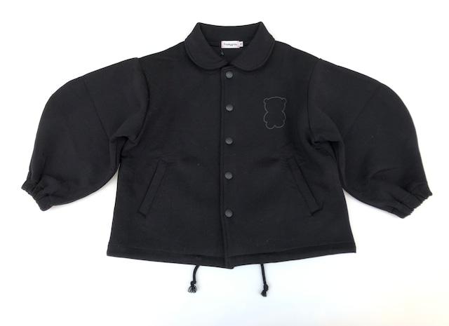 【21AW】フランキーグロウ ( frankygrow )BEAR DOUBLE KNIT JACKET[ S / M / L ]black アウター ジャケット