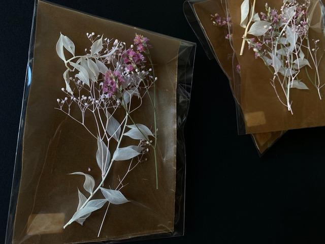 「ピンク Mix フワラーアソード」レジン花材 ハンドメイド資材 ドライフラワー ブリザードフラワー かすみ草 スターチス ラスカス