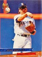 MLBカード 93FLEER Craig Shipley #123 PADRES