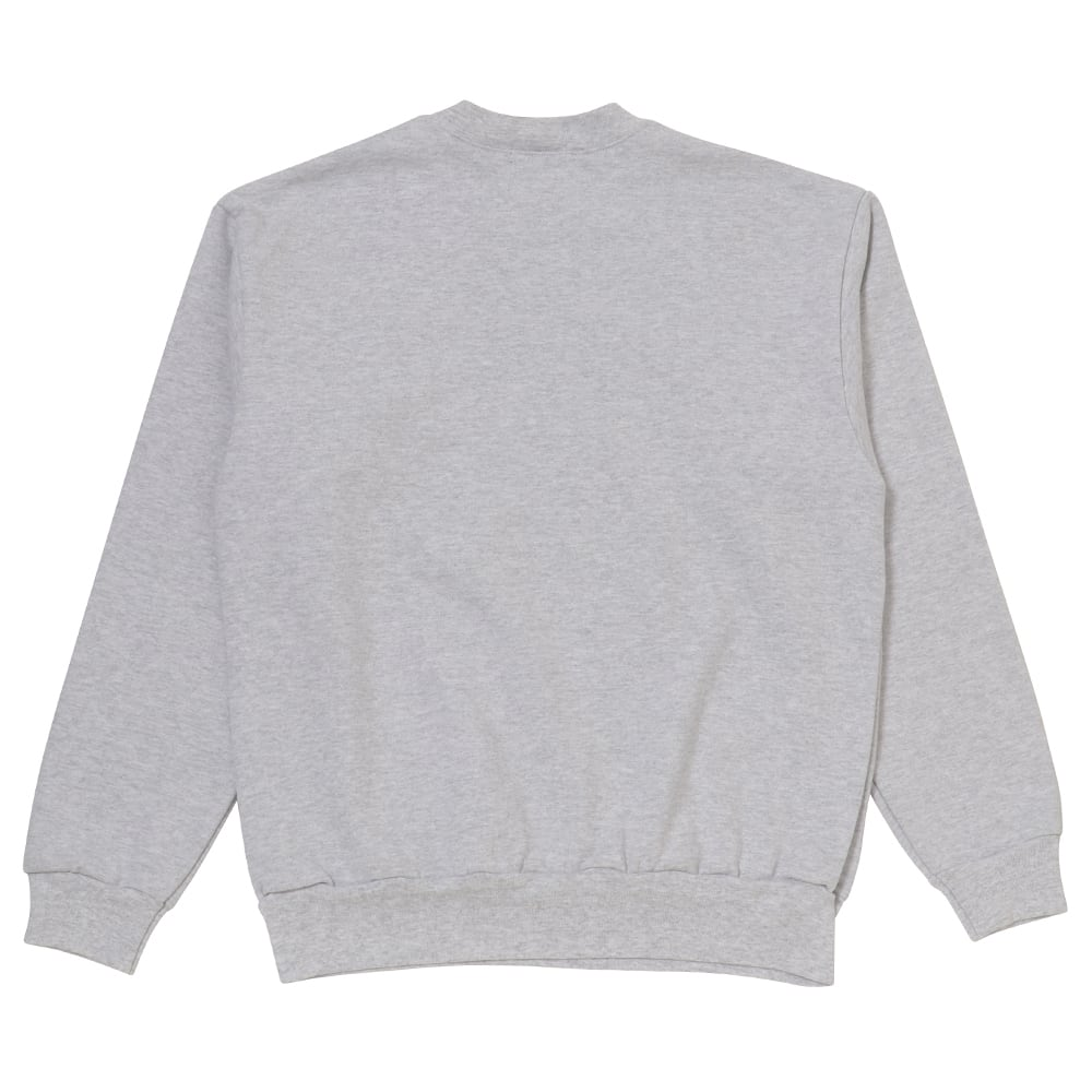 Gymnastic man Crewneck Sweatshirts / Gray - 画像2