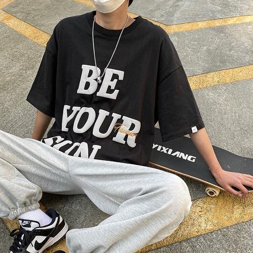 インパクトレタリングTシャツ BL8761