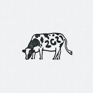 2021牛スタンプ