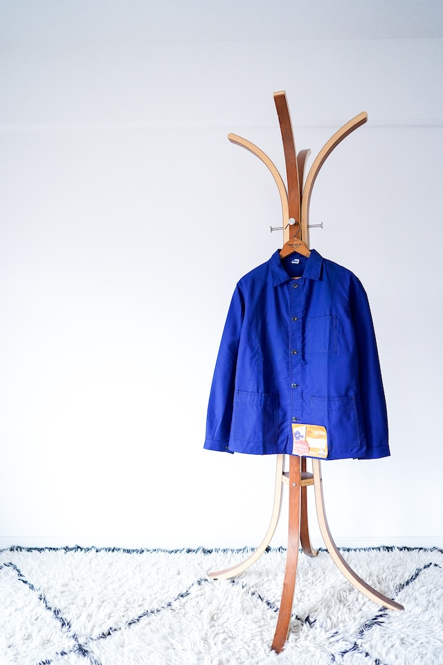 """【1960s, Deadstock】""""Pigeon Voyage"""" French Work JKT, Cotton Twill / v583"""