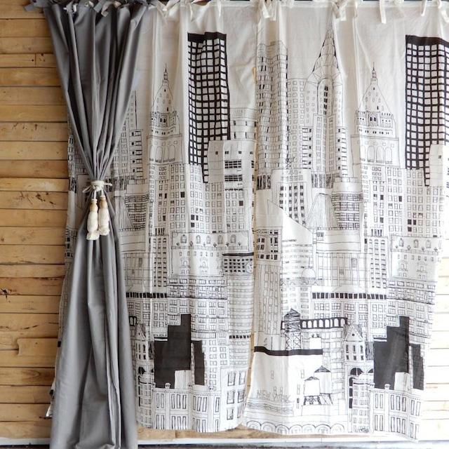 ランドスケープ カーテン 110×180cm ニューヨーク