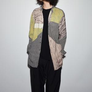 "Crazy Pattern ""NIPPON SILK"" Shirt Coat 〈E〉"