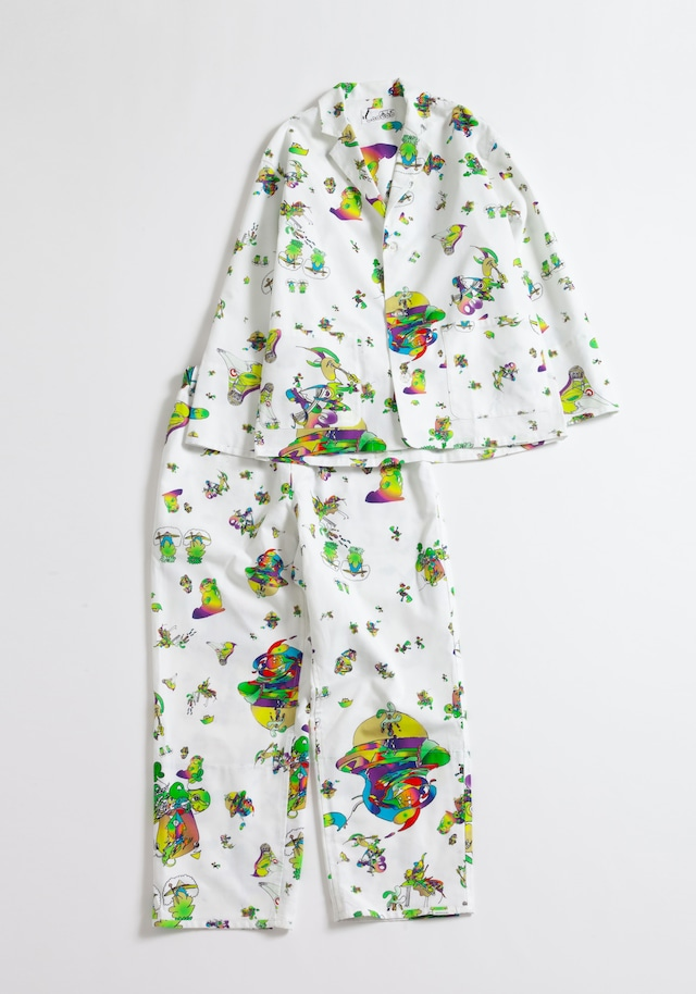 【NOWHAW】day pajama #∈Y∋ -White-