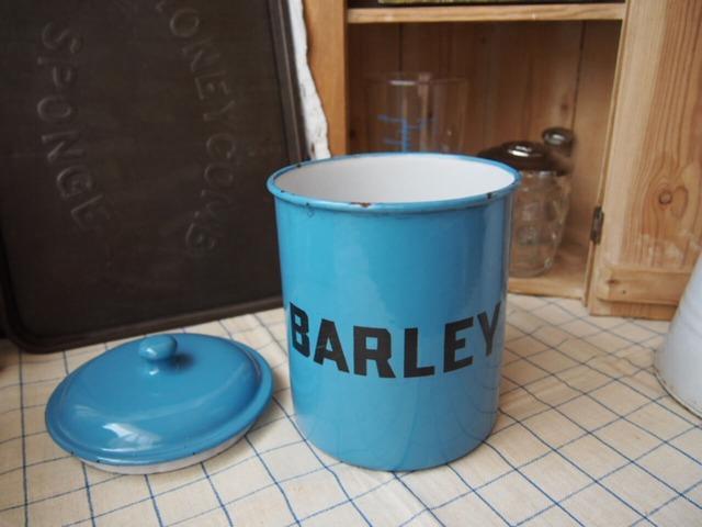 イギリスアンティーク キャニスター(BARLEY)