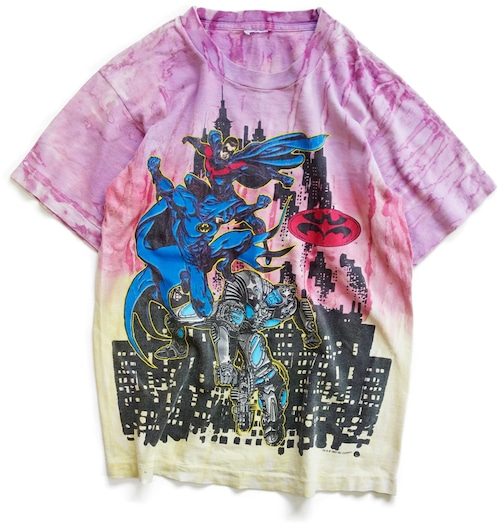 90年代 バットマン & ロビン Mr. フリーズの逆襲 映画 Tシャツ | BATMAN ROBIN アメリカ ヴィンテージ 古着