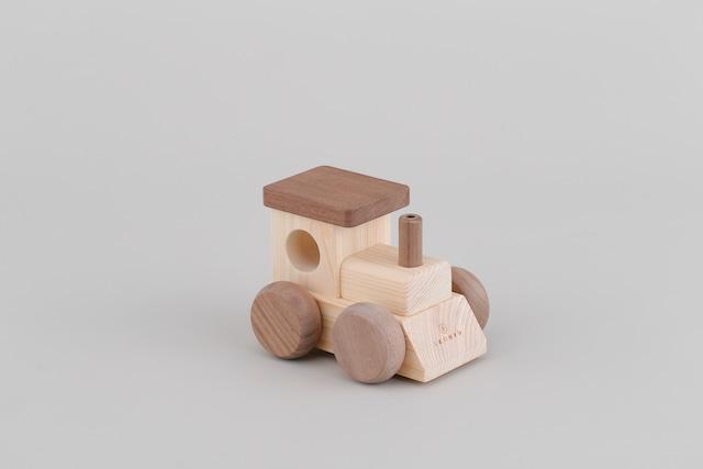 オルゴールトレイン MUSIC TRAIN ♫海の見える街 | 木のおもちゃ 出産祝い 汽車のおもちゃ