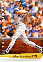 MLBカード 93UPPERDECK Ryne Sandberg #HR11 CUBS HOMERUN HEROES