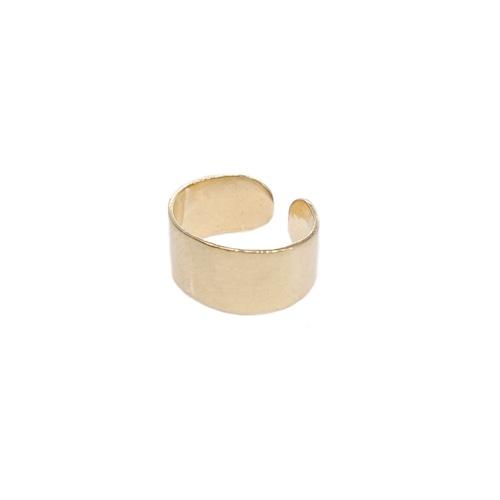 Ear cuff 'petit' gold color