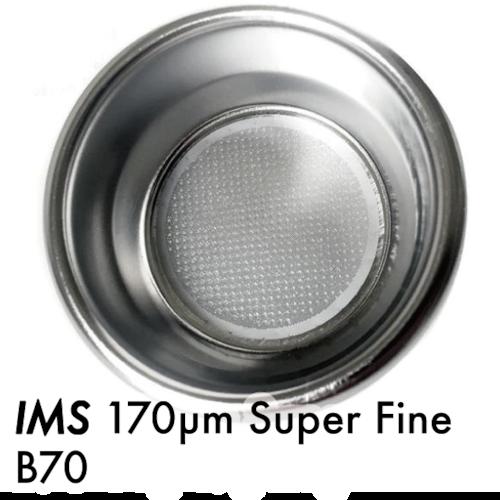 フィルターバスケット●IMS Super Fine 超精密 複層 170µm565孔  B70 エスプレッソフィルター