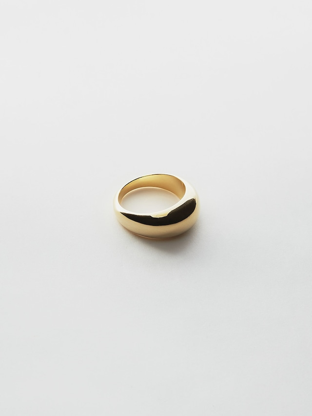WEISS Chubby Ring Gold wei-rggd-02