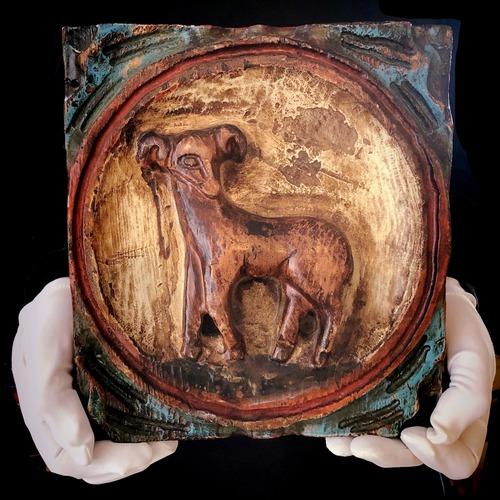 木彫りの牡羊座