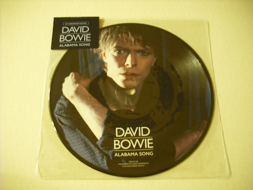 """【7"""" PICTURE DISC】DAVID BOWIE / ALABAMA SONG"""