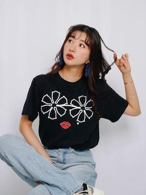 forget me not 『ロゴ』オリジナルブラックTシャツ