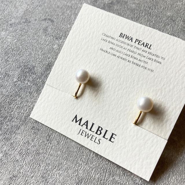 Biwa pearl earring