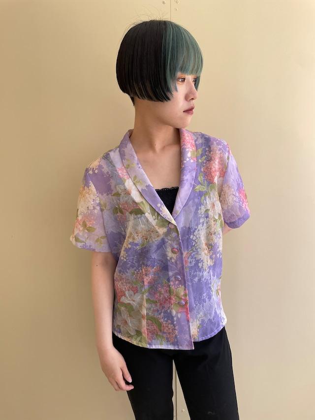 floral shirt / 7SSTP25-19