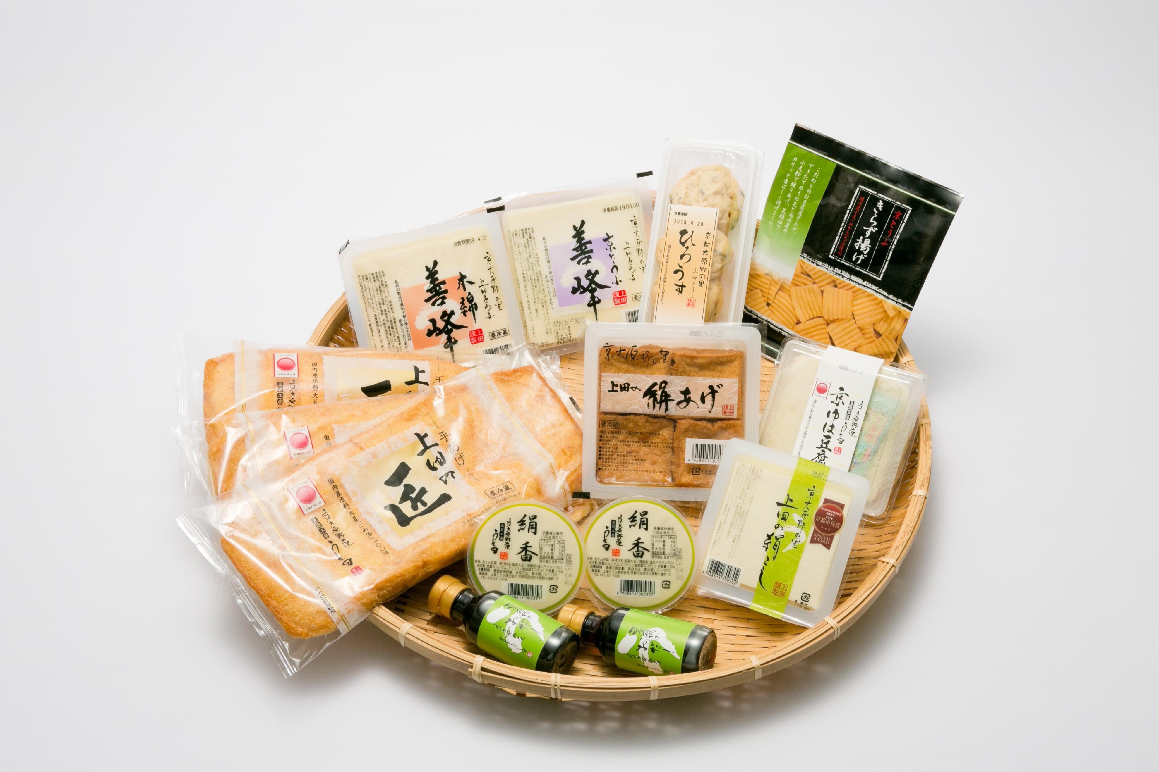 豆腐セット 善峰