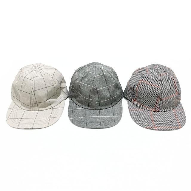 【O-】レイチョウルイラボ PLAID CAP