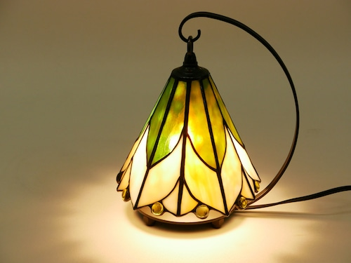 HK 黄色いお花のランプ