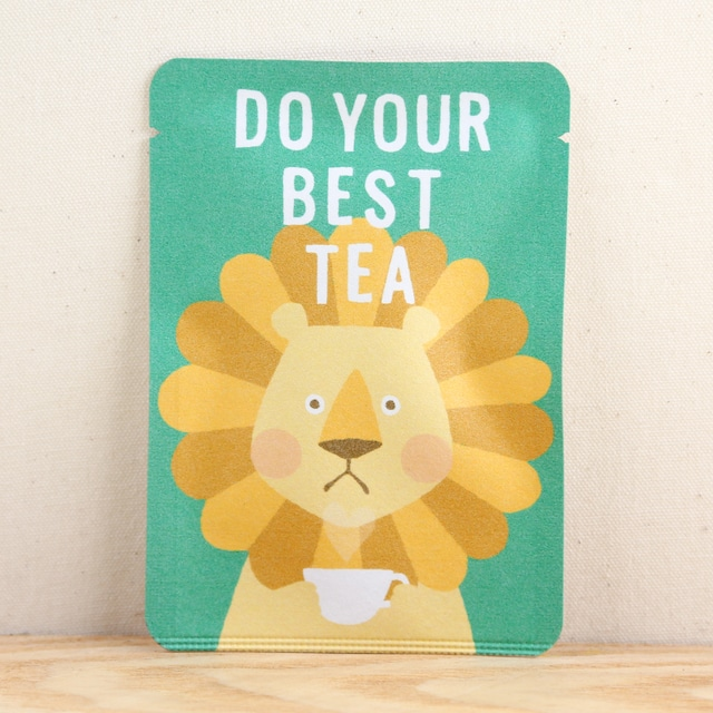 DO YOUR BEST TEA|ごあいさつ茶|和紅茶ティーバッグ1包入り
